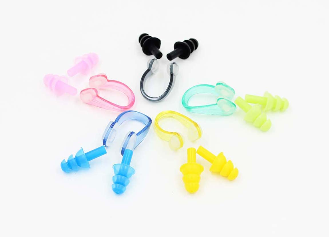 Aichang Swim Nose Clip+Ear Plugs Set by Aichang