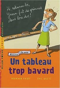 """Afficher """"Histoires à la carte n° 5<br /> Un tableau trop bavard"""""""