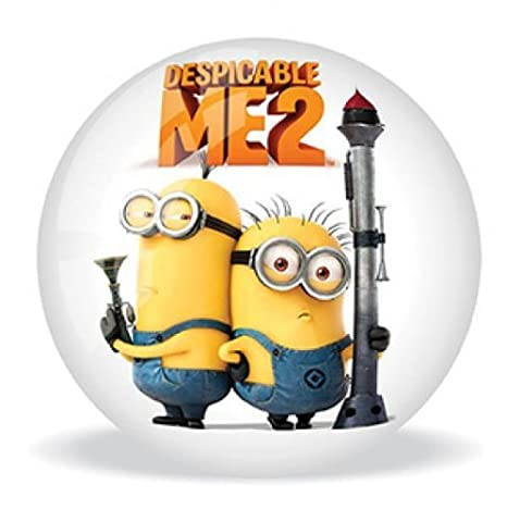 Despicable Me 5.5 2 Ball - Minion Diseño + GRU Diseño en reversa [Toy]: Amazon.es: Juguetes y juegos