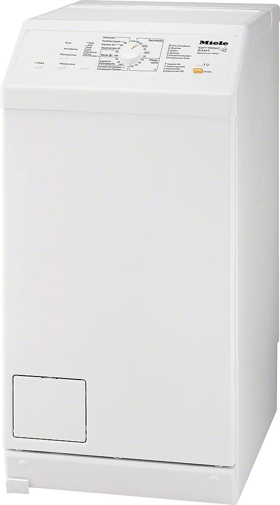 Miele W 668 F WPM - Lavadora (Independiente, Color blanco ...