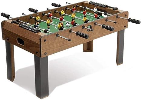 MGIZLJJ Futbolin Futbolín Table Soccer Game Table Competición Tamaño Fútbol Arcade for Sala de Juegos Interior Deporte for Adultos y niños Mesas Fútbol Juegos de fútbol: Amazon.es: Deportes y aire libre