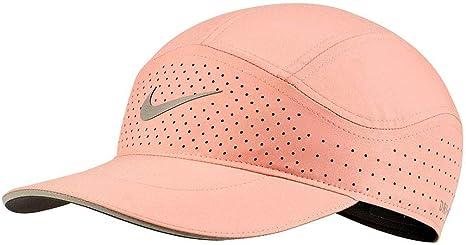 Nike Gorra AEROBILL Tailwind Elite Rosa Mujer: Amazon.es: Deportes ...