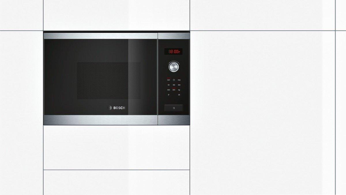 Bosch HMT75M654 - Microondas, 1270W, 220-230 V, acero inoxidable ...