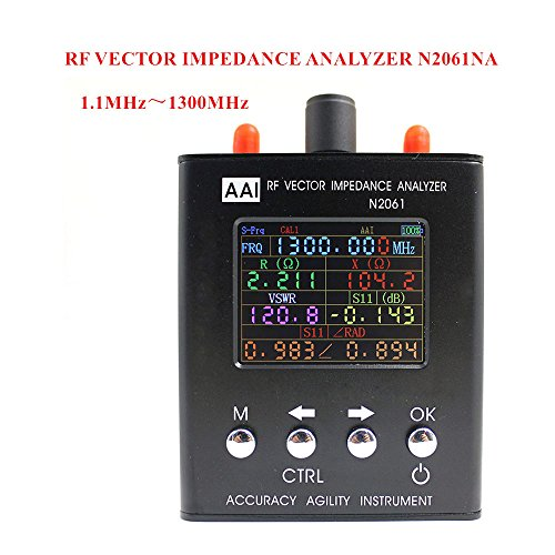 New Upgraded Version N2061SA Short Wave Antenna Analyzer Frequency Range 1.1MHz 1300MHz Resistance impedance SWR