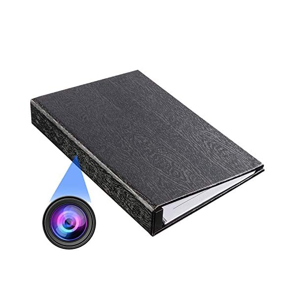 Ring Binder Hidden Camera