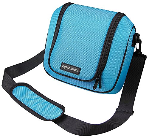 AmazonBasics Travel Bag for New Nintendo 2DS XL - Turquoise (Pokeball Ds Game Case)