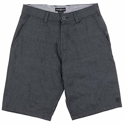 Hang Ten Mens Prospect Walking Short (30, Black)