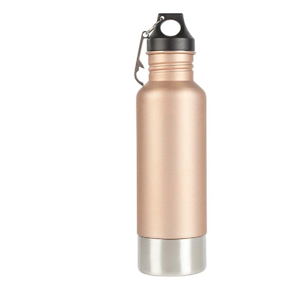 Carson マット銅ボトルガード ネオプレン製ドリンクウェアアクセサリー付き ローズゴールド B07DN5VCXX