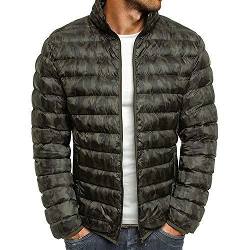 Men's Down Jacket New Winter Parkas Coat Men ATS Fashi Onable Stand Thin Warm
