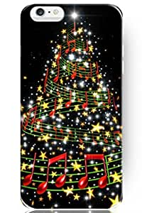 fashion case Special Design Pattern Hard Music and Star Christmas Tree for Apple iPhone 5s (5s.7 Inches) Case