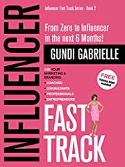 """""""Reading Gundi's book gives you the 'Kick in the Pants' motivation of a Tony Robbins event"""".                       YOU = INFLUENCER!! - Have apassion project you want to share with world? - Something amazing you always wanted..."""