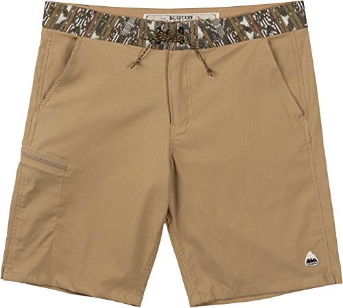 Burton Men's Moxie Shorts, Kelp/Kelp Guatikat, -