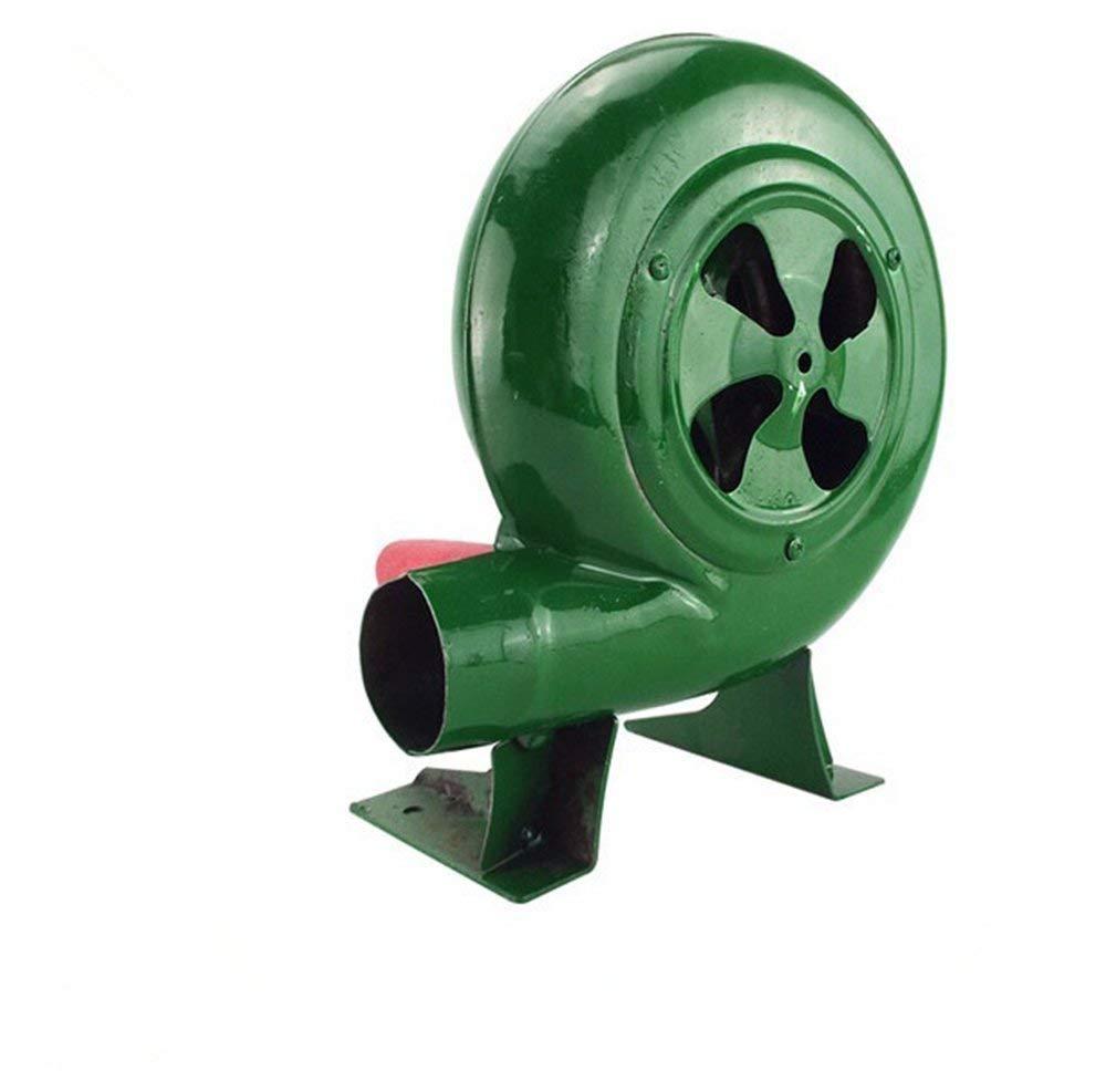 SY-Heat BBQ Fan Top Manuelle Forge Gebl/äse Handkurbel Fan Grill BBQ Feuerzeuge Kohle Feuerzeug Fan-Green,150W