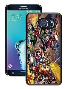 Fashionable S6 Edge Plus Case,Marvel Superhero Black Customized Case For Samsung Galaxy S6 Edge Plus Case