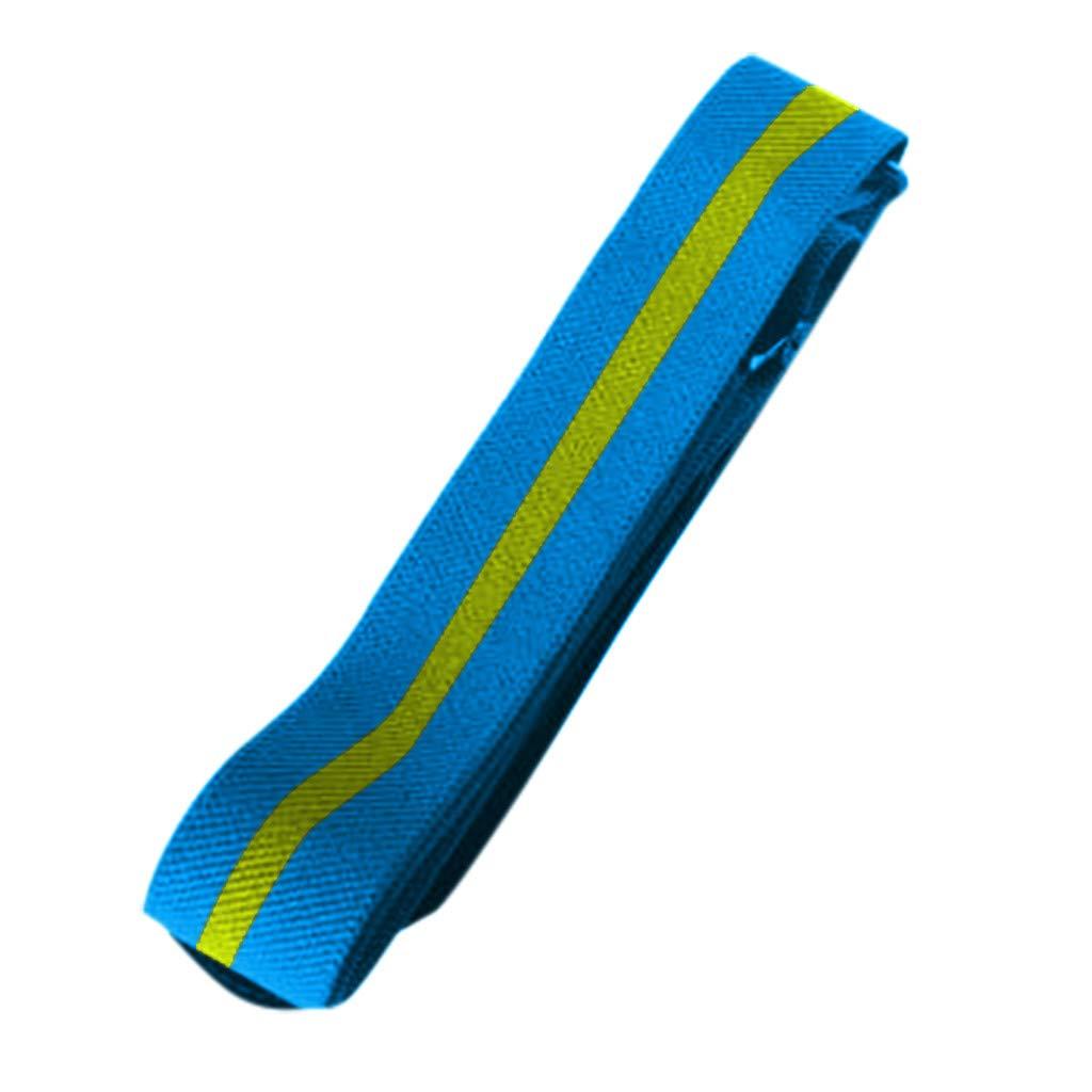 Iuhan  No Buckle Women Elastic Belt, Buckle-Free Belt for Jeans for Women Men Kids, Invisible Stretchy Waist Belt No Buckle Hassle for Pants Dress (70-100CM, Blue)