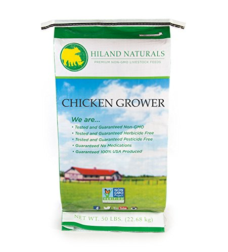 50Lb Bag Non Gmo Chicken Grower Shipping Included