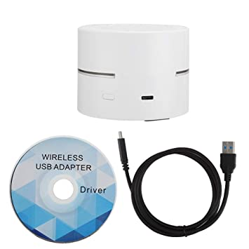 ASHATA Receptor WiFi inalámbrico USB, Tarjeta de Red Gigabit ...