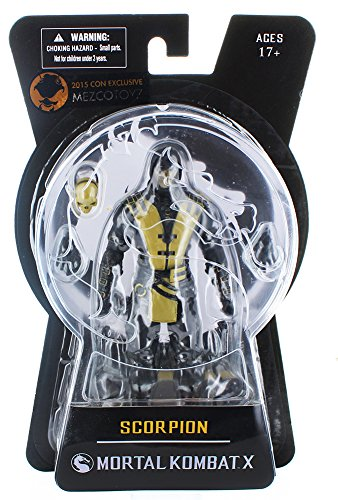 Mortal Kombat X : Scorpion Exclusive Black & Gold variant (2015 NYCC Exclusive)