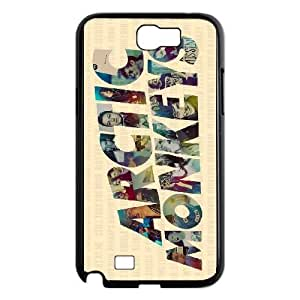 Samsung Galaxy Note 2 N7100 Case Cell phone Case Arctic Monkeys Plastic Luaw Durable Cover