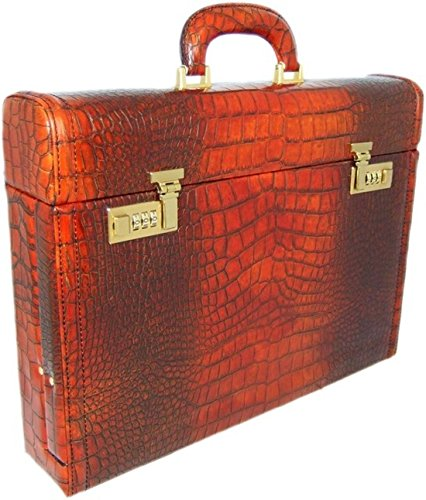 Pratesi Ghirlandaio King Attach Case - KCO 215/P -- King Cognac --