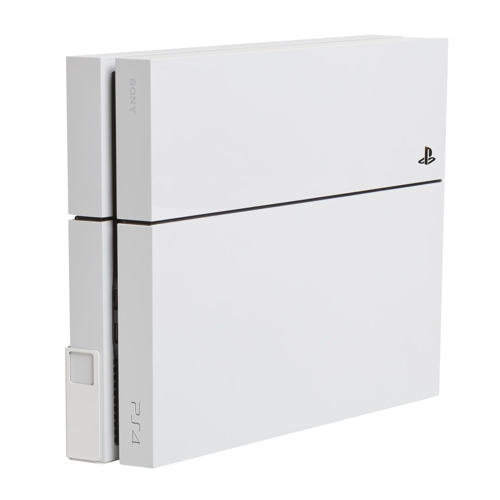 HIDEit 4 Original PS4 Mount - Wall Mount for PS4 Original (White) - Works with Limited Edition PS4 Original Consoles - Made in The USA and Trusted Worldwide Since 2009 - Search afterHIDEit on Social by HIDEit Mounts