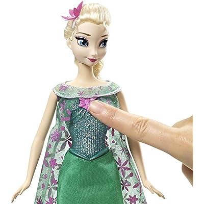 Disney Frozen Fever Singing Elsa Doll: Toys & Games
