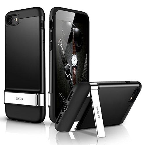 [해외]iPhone 7 케이스, iPhone 7 킥 스탠드 케이스, ESR [슬림 핏] [충격 흡수] 유연한 범퍼와 하드 PC가있는 금속 킥 스탠드가있는 보호 케이스/iPhone 7 Case, iPhone 7 Kickstan
