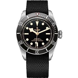 515Mcld1MxL. SS300  - Tudor Heritage Black Bay Men's Watch Steel on Black Fabric Strap 79230N Men's Watch