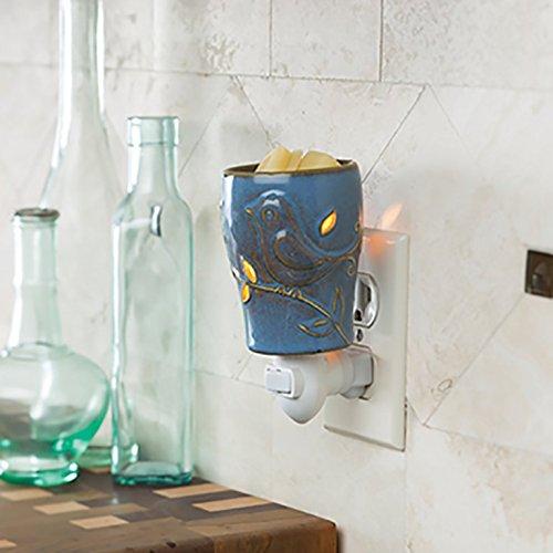 Candle Warmers Etc. Blue Bird Pluggable Warmer