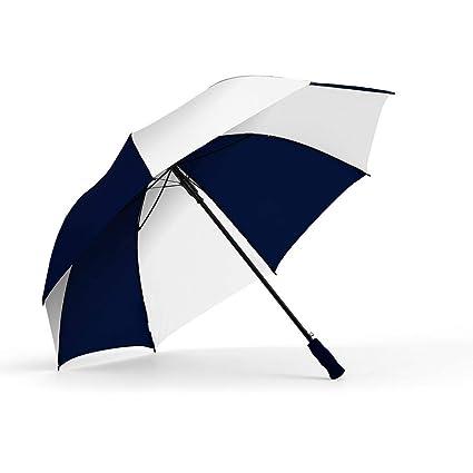 4de7a29a2a3d Amazon.com : ShedRain Auto Open Golf Umbrella: Navy/White : Sports ...