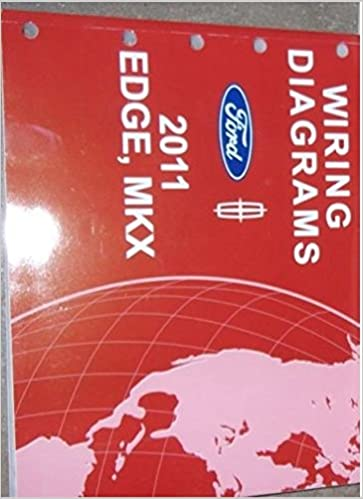 2011 ford edge lincoln mkx electrical wiring diagram service shop repair  manual: ford: amazon com: books