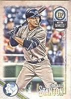 2018 Topps Gypsy Queen #224 Giancarlo Stanton New York Yankees Baseball Card - GOTBASEBALLCARDS
