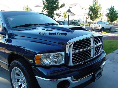 Dodge Ram Rumble Bee Hood Scoop Kit OE Dimension. FITS 2002-2008 1500 & 2003-2009 2500/3500 UNPAINTED #HS006 by SEM (Image #2)