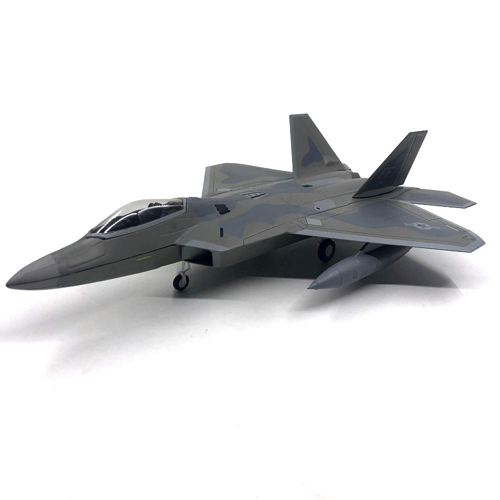 USA Lockheed Martin F-22 Raptor 1/72 diecast Plane Model Aircraft