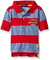U.S. Polo Assn. Boys' Striped Jersey Pol...