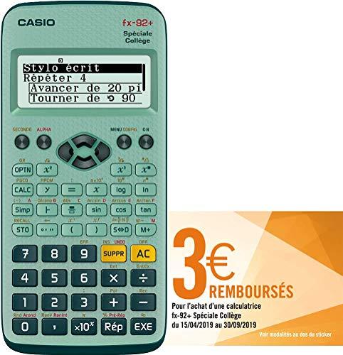 Casio FX 92 College II D Plus Scientific Calculator, Battery