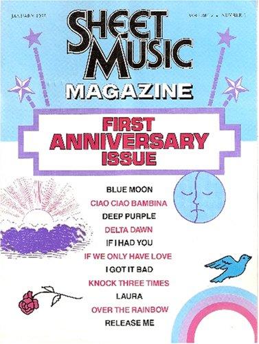 (Sheet Music Magazine - January 1978 (First Anniversary Issue, Volume 2 Number 1))