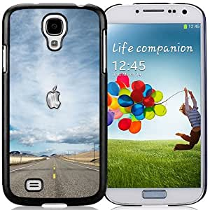 NEW Fashion Custom Designed Cover Case For Samsung Galaxy S4 I9500 i337 M919 i545 r970 l720 Apple Highway Black Phone Case
