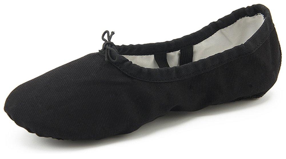 Dreamone B073XJ8TJC de Chaussures de 19904 Ballet Fille Classique Chaussures de Danse Gymnastique Yoga Ballerines Chaussons Femme W-noir ffff531 - latesttechnology.space
