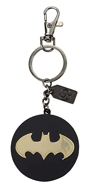 Universo DC- Llavero logo de metal Batman, Color dorado (SD ...