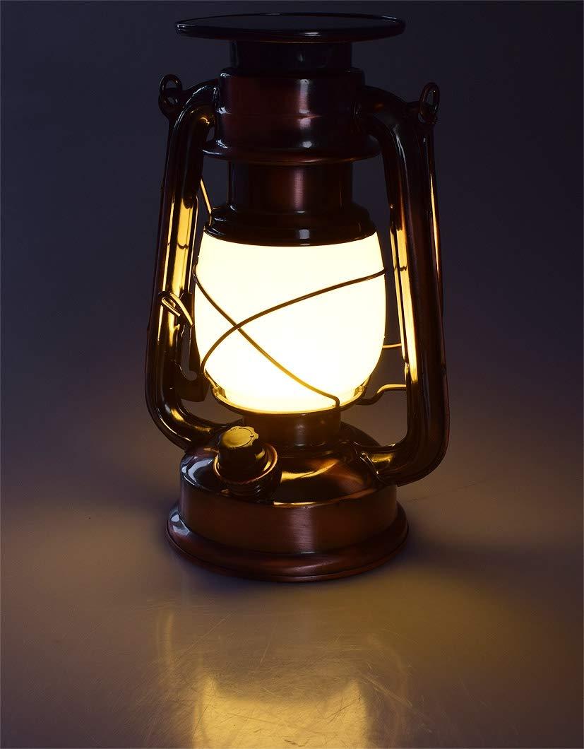 Magnifique Lampe lanterne solaire avec accus 36 LEDs