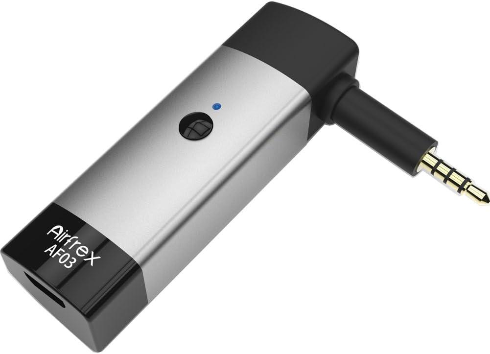 Adaptador Bluetooth Inalámbrico Airfrex para Auriculares Bose QuietComfort 3 (QC3), Receptor Bluetooth para Auriculares Bose QC3 (QuietComfort 3)