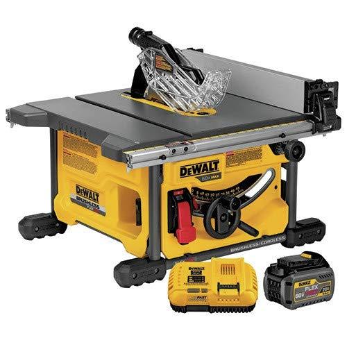 DEWALT DCS7485T1 FLEXVOLT 60V MAX Table Saw Kit, 8-1/4″