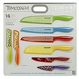 Cheap Hampton Forge 16-Piece Tomodachi Prints Cutlery Set