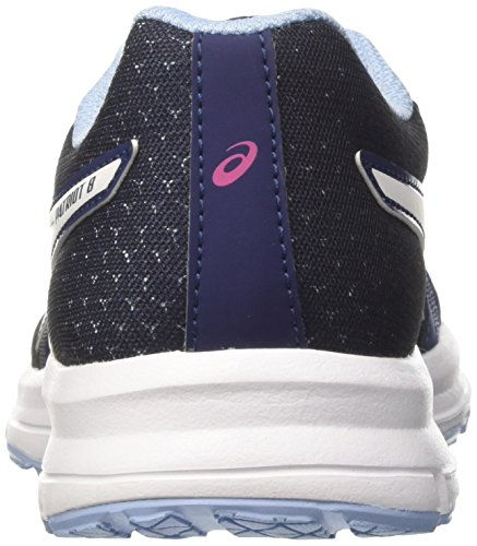 Asics Patriot 8, Scarpe Running Donna, Blu (Indigo Blue/White/Fuchsia Purple), 39.5 EU