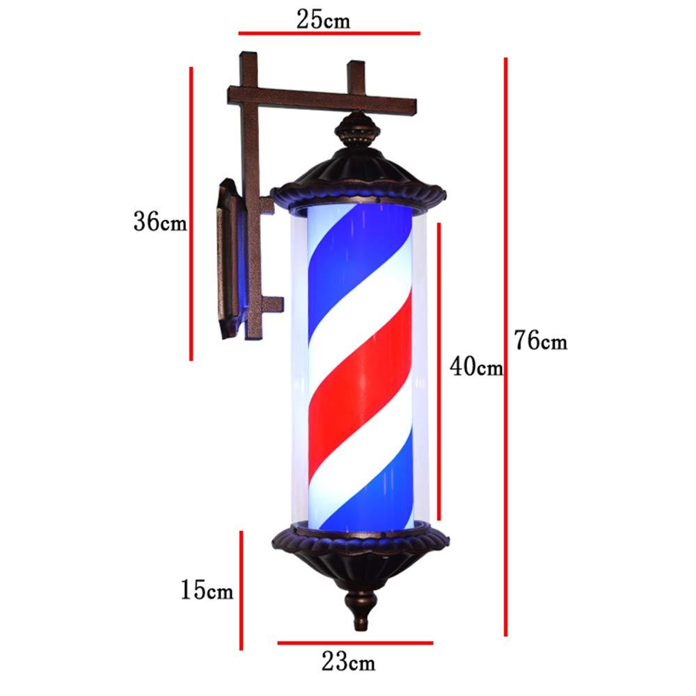Poste de Barbero Profesional sin Esfera Luminosa para Peluquería ...