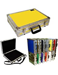 Briefcase ATA Style - Std Size - Id 17 1/2 X 12 3/4 X 3 3/4 High - Color Yellow