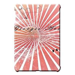 iPad Mini 1 / Mini 2 Retina / Mini 3 Protection Snap stylish Ipad back shell Armani famous top?brand logo