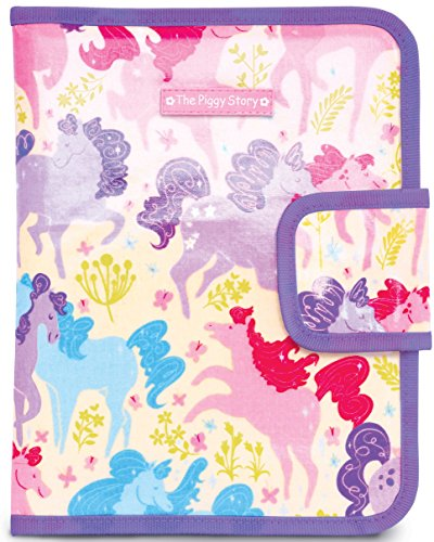The Piggy Story 'Dancing Ponies' Chalk n' Marker ArtFolio with Doodle Pad for Portable Play