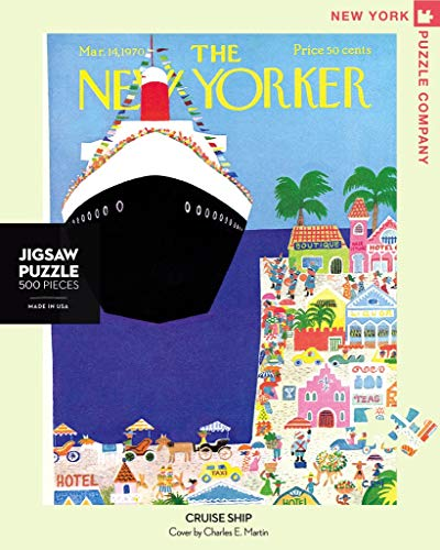 - New York Puzzle Company - New Yorker Cruise Ship - 500 Piece Jigsaw Puzzle